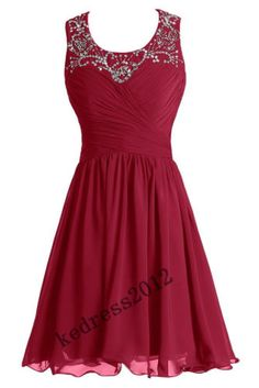 STOCK-New-Short-Mini-Cocktail-Formal-Gown-Prom-Party-Ball-Evening-Dress-Size6-20