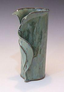 Sexy handbuilt vase