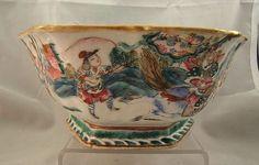 Chinese famille rose porcelain bowl Tongzhi mark & period