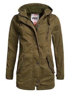 Rookie Military Parka Jacket