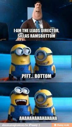 Pfft...Bottom hahahaha :D