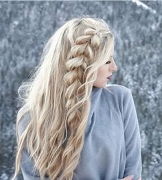 Side braids are simple but really chic. It's simple but beautiful. And it's definitely a time-saver so it's good for busy days.