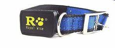 "Royal Wise LED Light Flashing Dog Collar Safety Adjustable for Pet 25"""