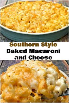 Southern-Style Soul Food Baked Macaroni and Cheese