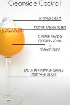 Creamsicle Cocktail | 13 Boozy Creamsicle Cocktails That Aren't Totally Stupid
