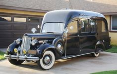 1937 Packard Camper Touring Car (one of one)