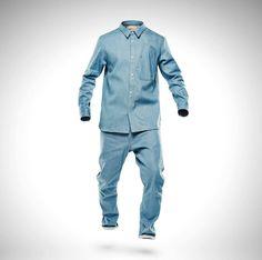 c7e56075dfe0 Marc Newson Denim Lightweight Jacket and Jeans