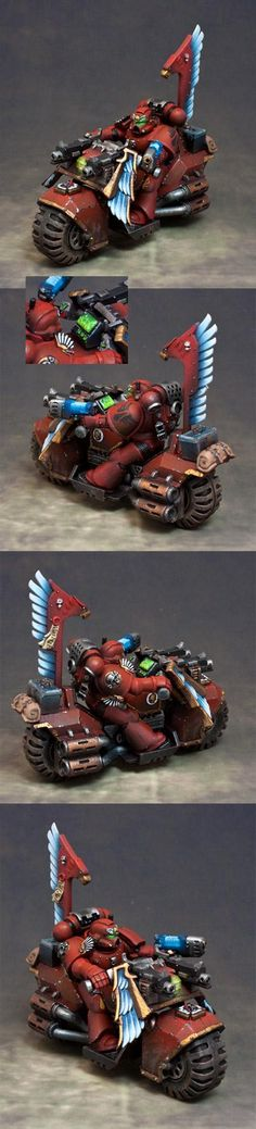 Bike, Blood Angels, Space Marines