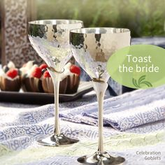 Ethical Gift Finder: Handmade Gifts from Ten Thousand Villages love these goblets!