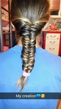 Fishtail braid i made it