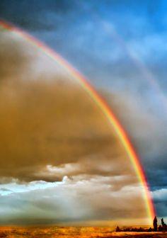 Prairie Rainbow Photograph  - Prairie Rainbow Fine Art Print