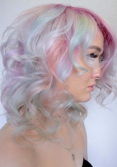 56 Sweet Candy Clouds Curls for Fashionable Women in 2018. Amazing hair color trends that you can use to sport to make you stand out in the whole crowd for 2018. Gorgeous shades of cotton candy curly hairstyles for bold and stylish ladies. We have seen so many top female celebs who like to wear this awesome hair colors for medium and short curls in 2018. Best ideas for 2018.