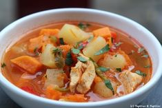 Soupe Mexicaine Tex Mex, Thai Red Curry, Menu, Dishes, Cooking, Ethnic Recipes, Food, Table, Eten