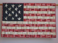 Flag No. 6 wall quilt by tinacurran on Etsy