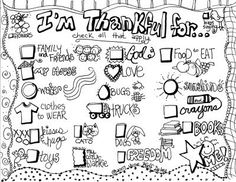 Thankful List