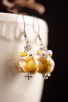 Flower Bead Earrings