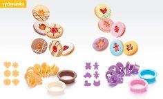 Vykrajovače na linecké cukrovinky DELÍCIA, 8 ks