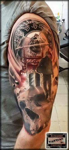 So cool Best Picture For auto Racing Tattoos For Your Taste . Best Picture For Racing Tattoos trac Racing Tattoos, Car Tattoos, Biker Tattoos, Motorcycle Tattoos, Badass Tattoos, Skull Tattoos, Body Art Tattoos, Tatoo 3d, Tattoo Bar