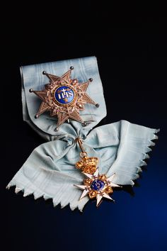 """The Royal Order of the Seraphim, also known as """"the Blue Ribbon"""" - is the highest order of chivalry in Sweden. It was established by King Frederick I on 23 February 1748, together with the Order of the Sword and Order of the Polar Star."""