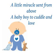 Boys Baby Shower Poems And Quotes. QuotesGram