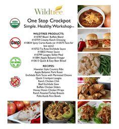 One Stop Crockpot Workshop - Bundle List & Recipes