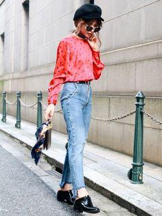 Vintage rétro blouse♡ Madder vintageオンラインショップは インス
