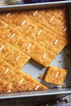 Namoura (Syrup-Soaked Semolina Cake) Recipe - NYT Cooking