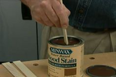 How to Use Water-Based Wood Stains
