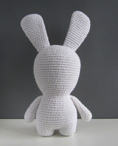 Pattern for standing amigurumi (legs, body, & head as one piece) - thanks so xox