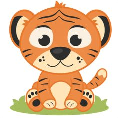 Daily Freebie 7-8-14: Miss Kate Cuttables--Baby Tiger SVG cutting file tiger svg cut file free svgs free svg cuts