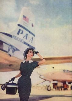 Pan Am travel in 1956