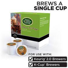 Keurig® K-Cup® Portion Pack Green Mountain Coffee Mocha Nut Fudge Coffee - 18-pk.