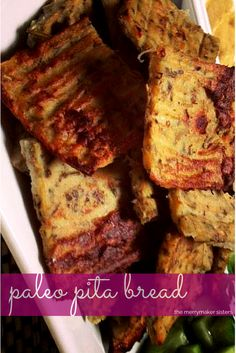 If you're after our Paleo Pita Bread recipe just click here!