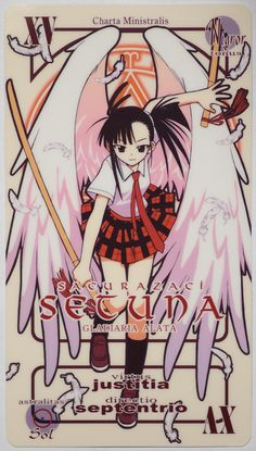 The sworn protector of Konoka. The angel wings are a nice touch, but don't let them fool you. She can cut a boulder in half before you see her hand move to her hilt. Manga Art, Anime Manga, Anime Art, Anime Drawings Sketches, Sailor Saturn, Naruto And Hinata, 12th Book, Asuna, Kawaii Anime Girl
