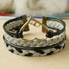 heart bracelet for Christmas gift for her