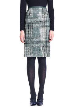 THE SKIRT  Tory Burch Bristol Glen Plaid Skirt, $375; toryburch.com