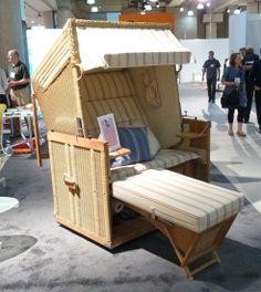 Beach Sofa Folds Into A Steamer Trunk