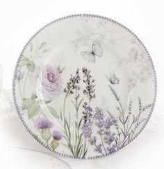 Lavender Porcelain Plate