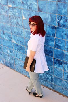 A classic that is so on trend for Fall. My take on the Little White Shirt.
