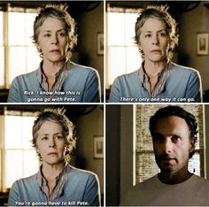 """The Walking Dead 5x14 """"Spend"""" Carol and Rick Grimes"""