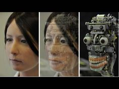 Meet Geminoid-F, a disturbingly lifelike female robot, created by Osaka University's Professor Hiroshi Ishiguro. Programmed with upwards of 60 human-like actions, the new robot, a copy of a woman in her twenties with long dark hair, can smile, frown, and change facial expressions quite naturally...