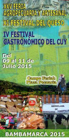Cajamarca: Feria artesanal y festivales del queso y del cuy en Bambamarca