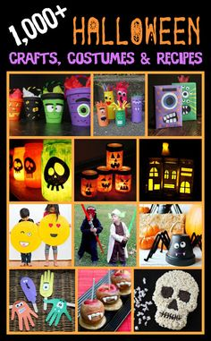 We have been collecting Halloween crafts, recipes, activities and costume ideas since We now have a library of over Halloween … Halloween Themes, Fall Halloween, Halloween Crafts, Happy Halloween, Creepy Food, Spooky Food, Recycled Crafts Kids, Crafts For Kids, Fall Harvest Party