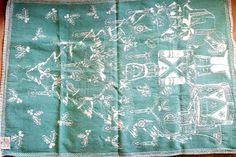 Cecil Saydah Beach Towels.7 Best Vintage Tea Towels Images In 2017 Dish Towels Kitchen