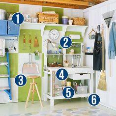 Get This Look - Dicas simples para Garagem Organizadora de Remodelaholic.com garagem # # # organizando dicas @ Remodelaholic