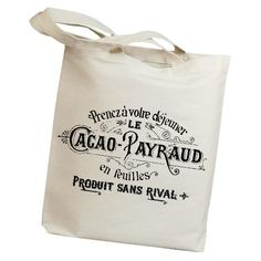 Enjoy a buttery almond croissant and orange marmalade in Provence with this tote.