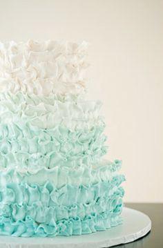 Ombre Wedding Cake (What Junebug Loves)