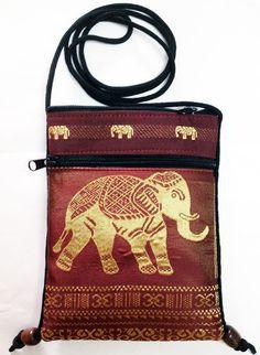 Statement Bag - Indian Elephant Print by VIDA VIDA oZT5Hb
