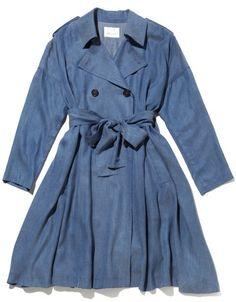 テンセルDENIMダブルコート / tencel coat on ShopStyle