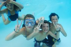We're havin #fun #swimming, peace ;)  Find out more about Alaglas #Pools of #Charleston here, http://alaglasofcharleston.com/
